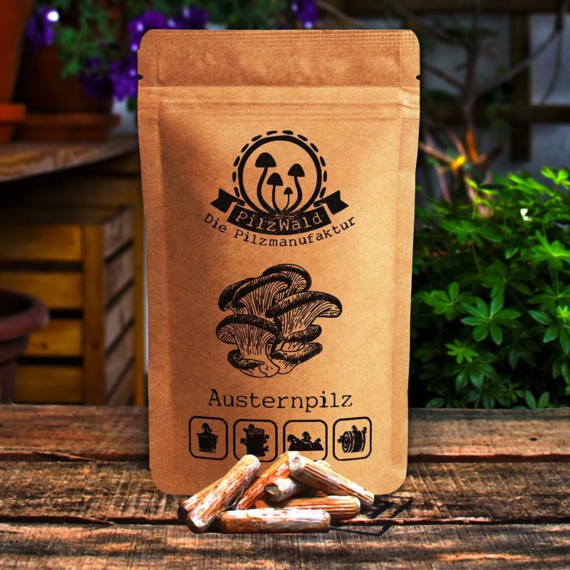 PilzWald Pilzdübel Pilzbrut - Pilzzucht auf Kaffeesatz mit Impfdübeln