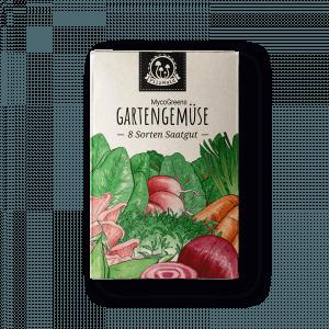 PilzWald MycoGreens Gemüse Samen Set für die Bepflanzung eines Pilzbeets - Saatgut für Haus & Garten